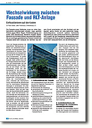 Wechselwirkung zwischen Fassade und RLT-Anlage: Einflussfaktoren auf die Kosten