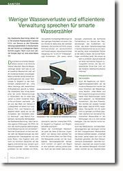 Smarte Messtechnik - der Schlüssel zu einem intelligenten Wassernetz