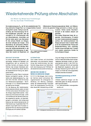 Differenzstrom-Überwachungssystem - Ableit- und Differenzströme der gesamten Anlage permanent messen