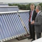 Solarthermie-Anlage EnergieAgentur NRW