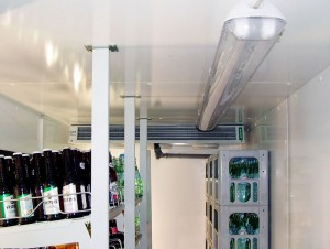 Abb.7a: Küba junior DF (kompakte Bauweise für kleine Kühlräume)