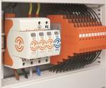 Abbildung 1: Die Ableiterserien der V50 Kombi- und der V20 Überspannungs-Ableiter tragen das neue Marken-Logo für den Blitz- und Überspannungsschutz.