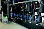 Heizzentrale des Novotel mit Servitec Vakuumverteiler